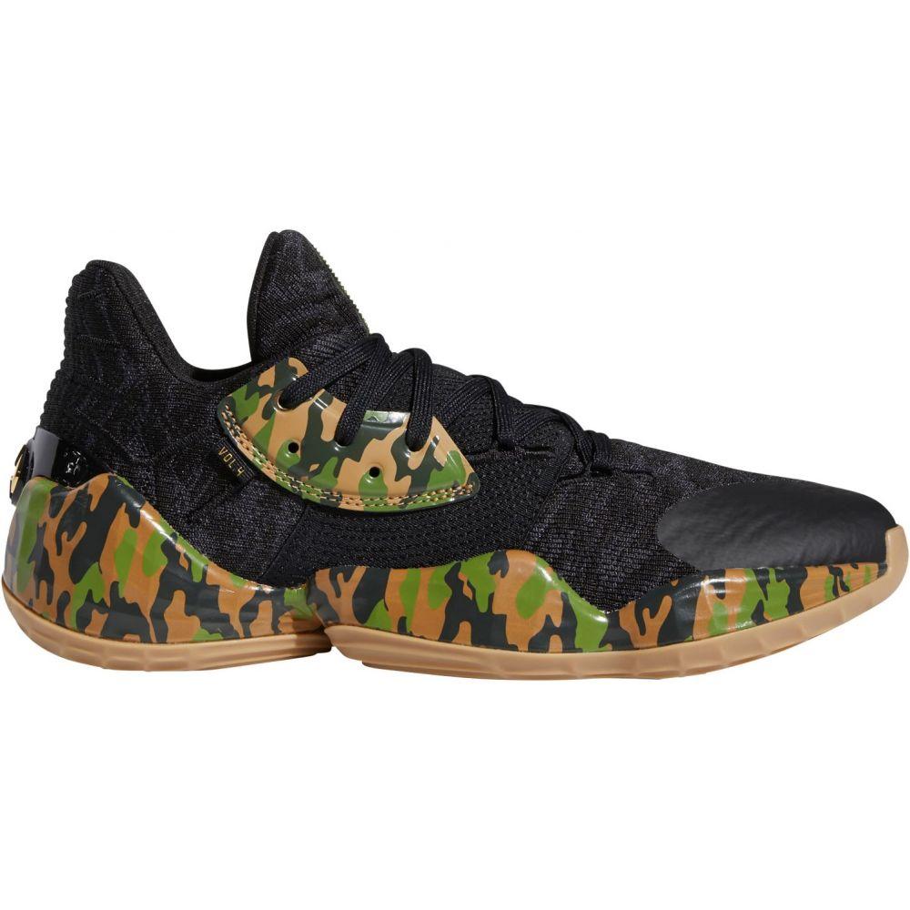 アディダス adidas メンズ バスケットボール シューズ・靴【Harden Vol. 4 Basketball Shoes】Black/Camo