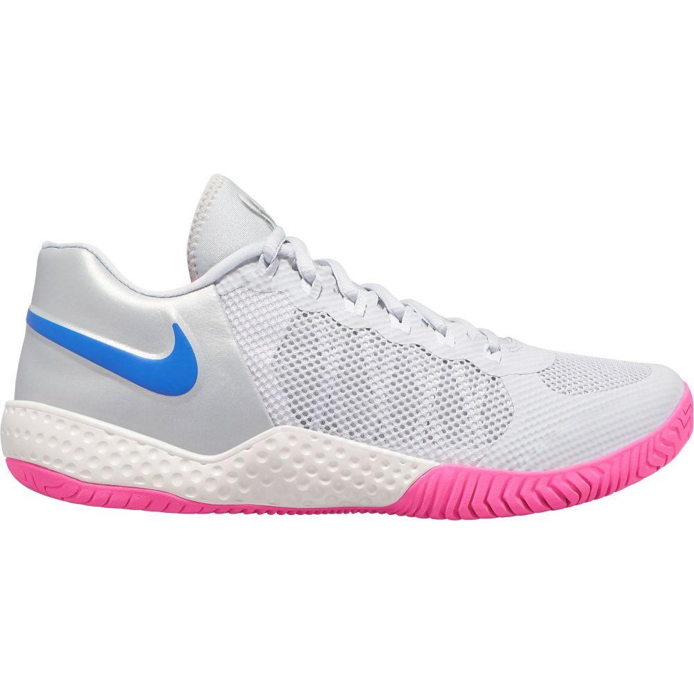 ナイキ Nike レディース テニス シューズ・靴【Court Flare 2 QS Tennis Shoes】Platinum/Blue