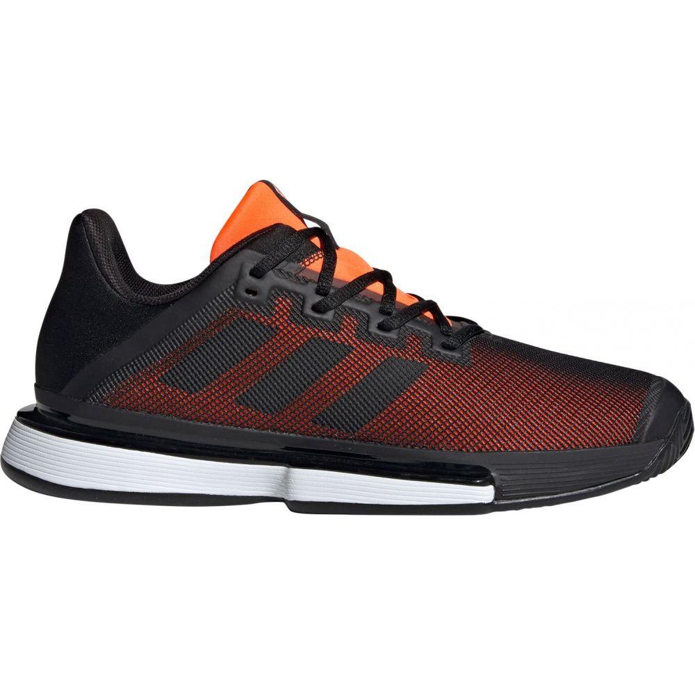 アディダス メンズ テニス シューズ・靴 【サイズ交換無料】 アディダス adidas メンズ テニス シューズ・靴【SoleMatch Bounce Tennis Shoes】Black/Orange