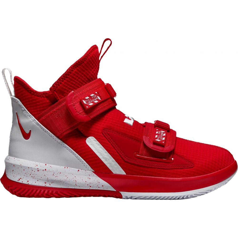 ナイキ Nike メンズ バスケットボール シューズ・靴【LeBron Soldier 13 SFG Basketball Shoes】Red/White