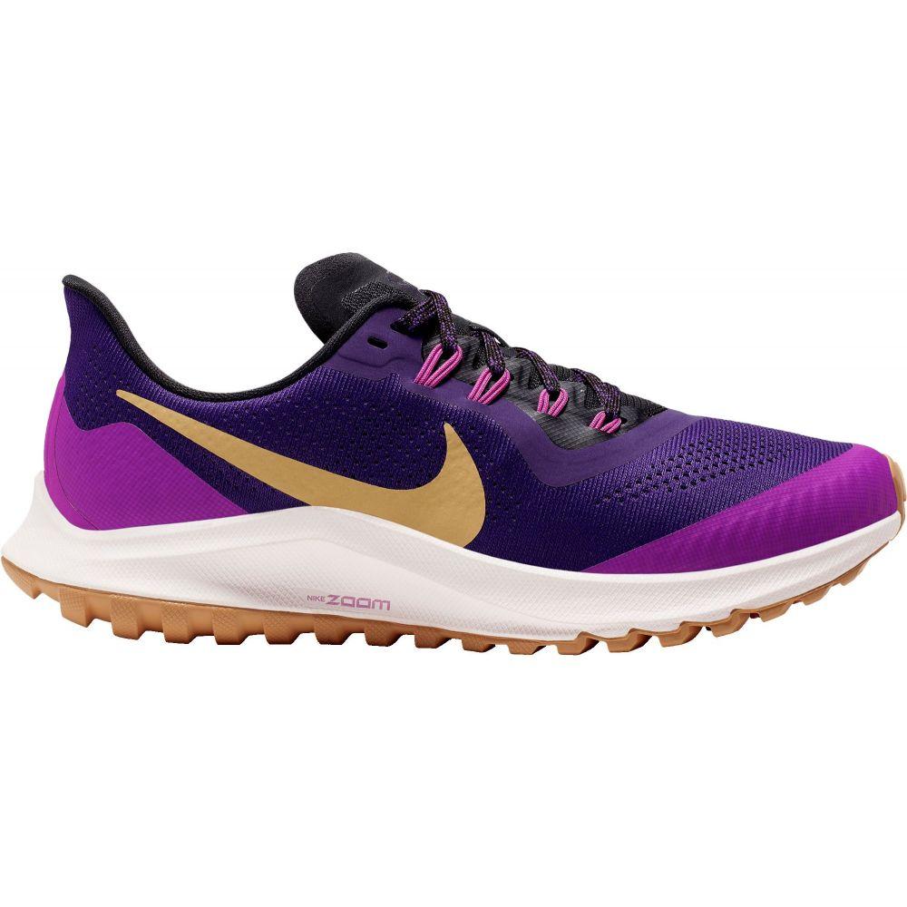 ナイキ Nike レディース ランニング・ウォーキング エアズーム シューズ・靴【Air Zoom Pegasus 36 Trail Running Shoes】Purple/Gold