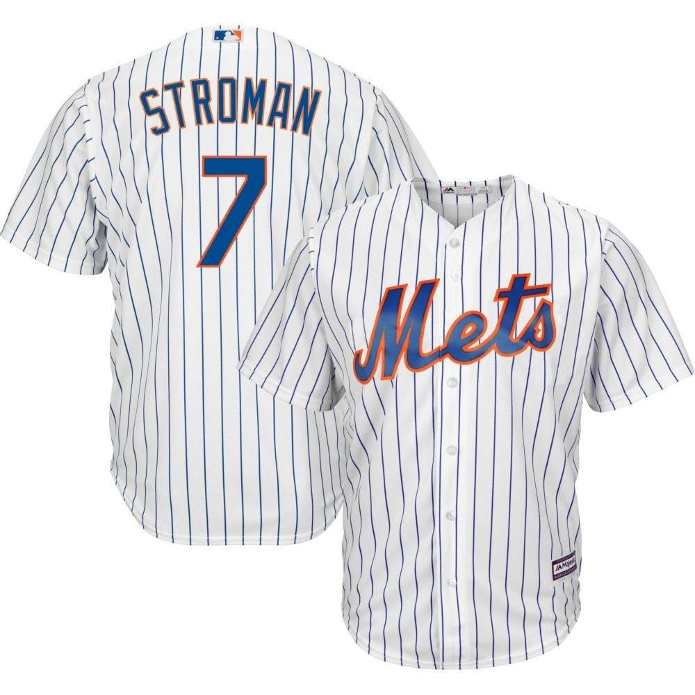 ファナティクス Fanatics メンズ トップス 【Majestic Replica New York Mets Marcus Stroman #7 Cool Base Home White Jersey】