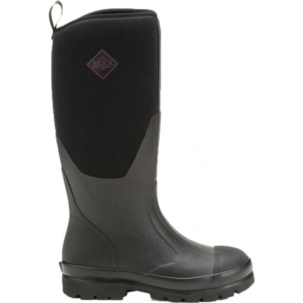 マックブーツ Muck Boots レディース ブーツ ワークブーツ シューズ・靴【Chore Tall Waterproof Work Boots】Black
