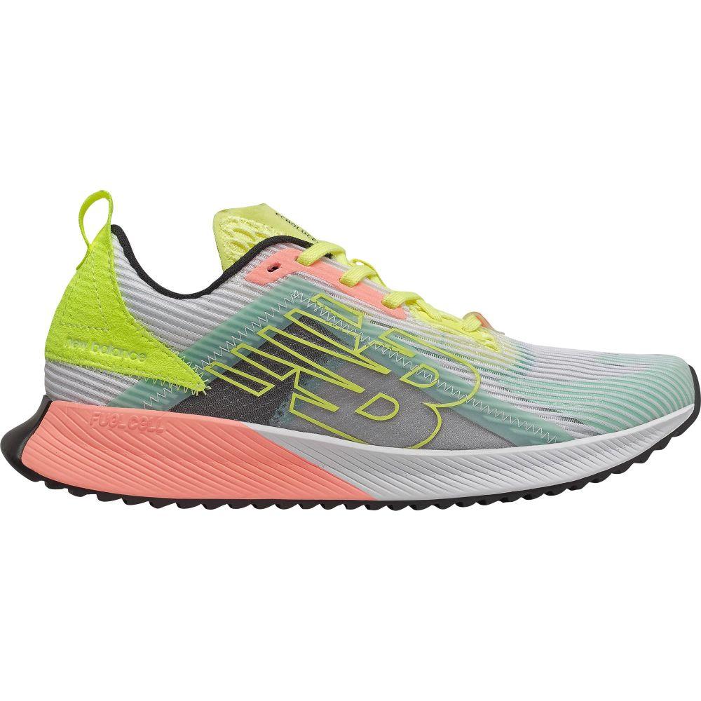 ニューバランス New Balance レディース ランニング・ウォーキング シューズ・靴【FuelCell Echolucent Running Shoes】WHITE/PINK/YELLOW