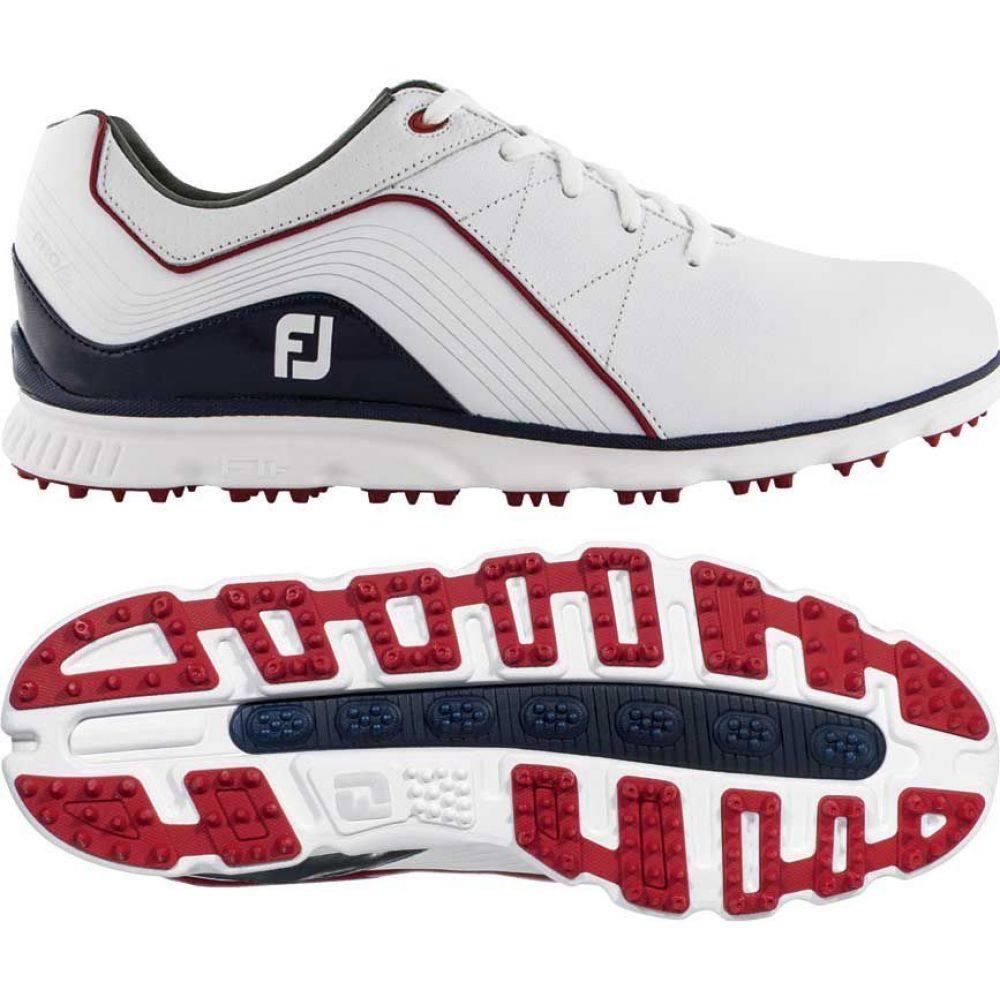 フットジョイ FootJoy メンズ ゴルフ シューズ・靴【2019 Pro/SL Golf Shoes (Previous Season Style)】White/Navy/Red