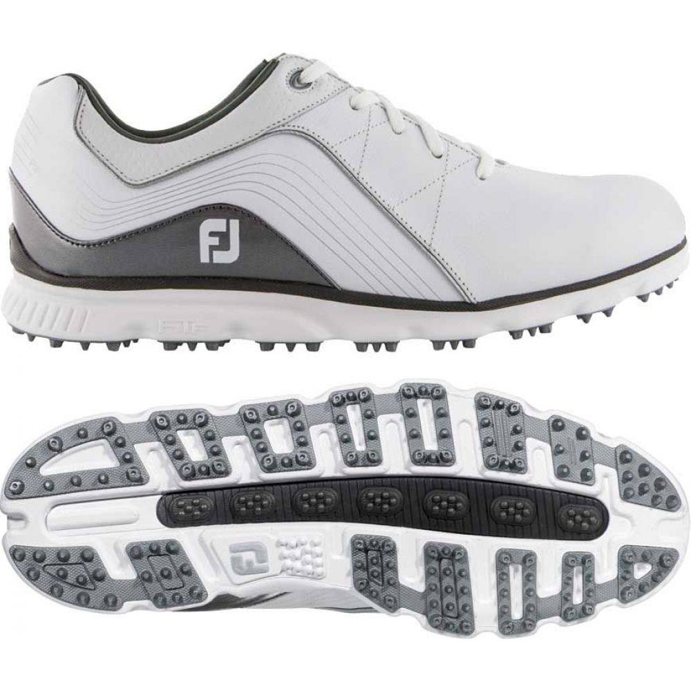 フットジョイ FootJoy メンズ ゴルフ シューズ・靴【2019 Pro/SL Golf Shoes (Previous Season Style)】White/Silver