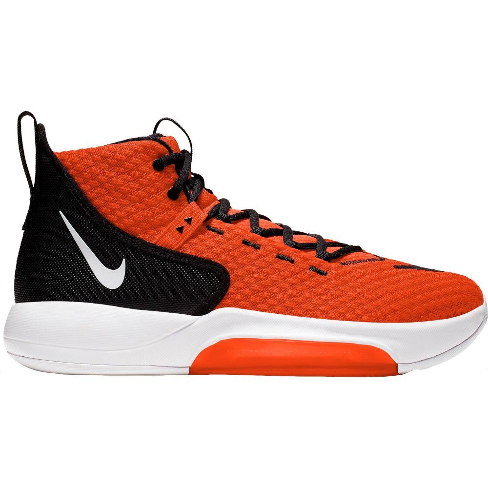 ナイキ Nike メンズ バスケットボール シューズ・靴【Zoom Rize Basketball Shoes】Orange/White
