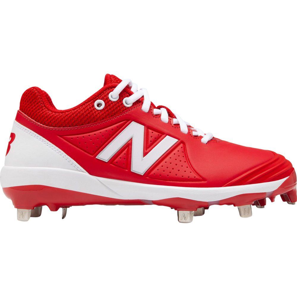 ニューバランス New Balance レディース 野球 スパイク シューズ・靴【FUSEV2 Metal Fastpitch Softball Cleats】Red/White