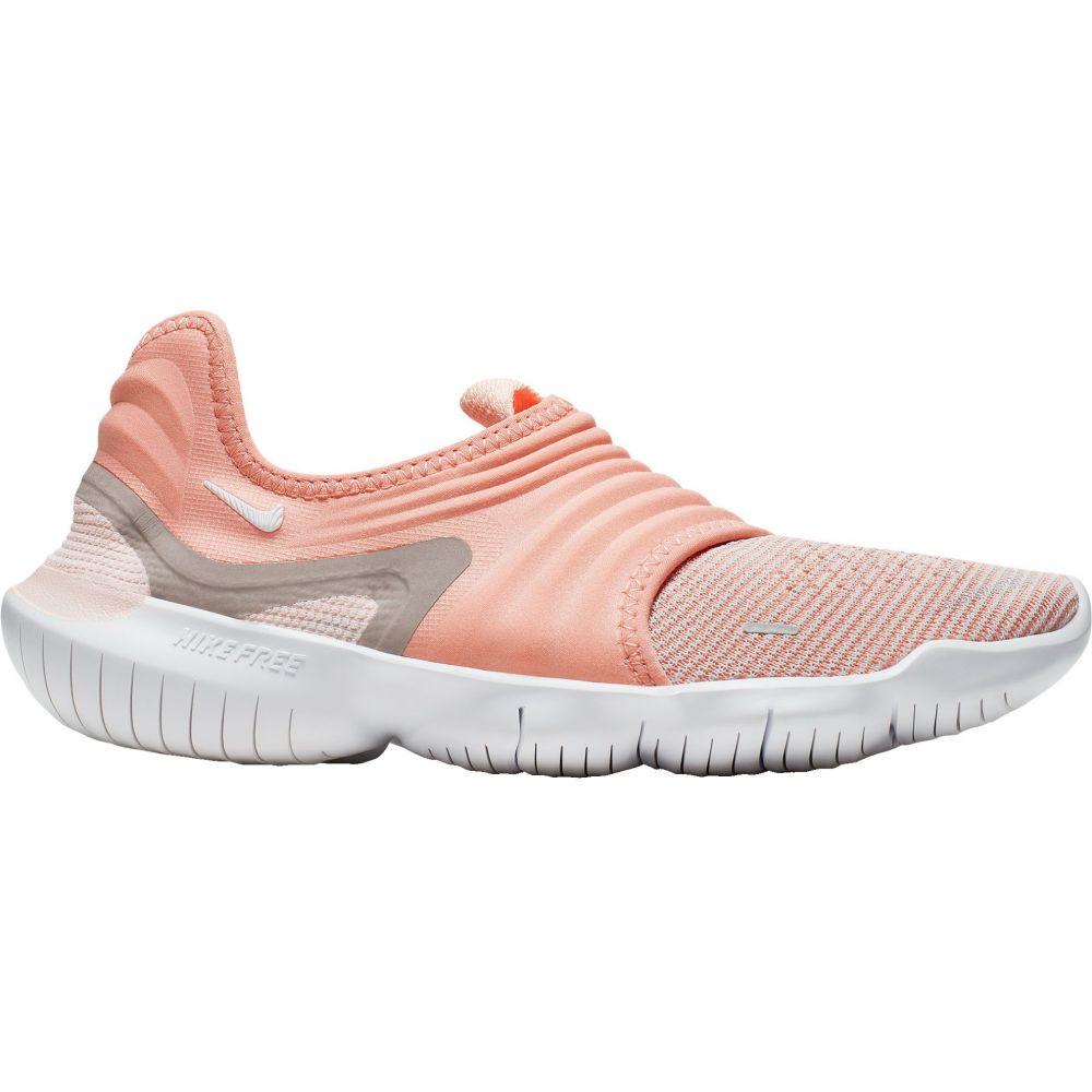 ナイキ Nike レディース ランニング・ウォーキング シューズ・靴【Free RN Flyknit 3.0 Running Shoes】Pink/White