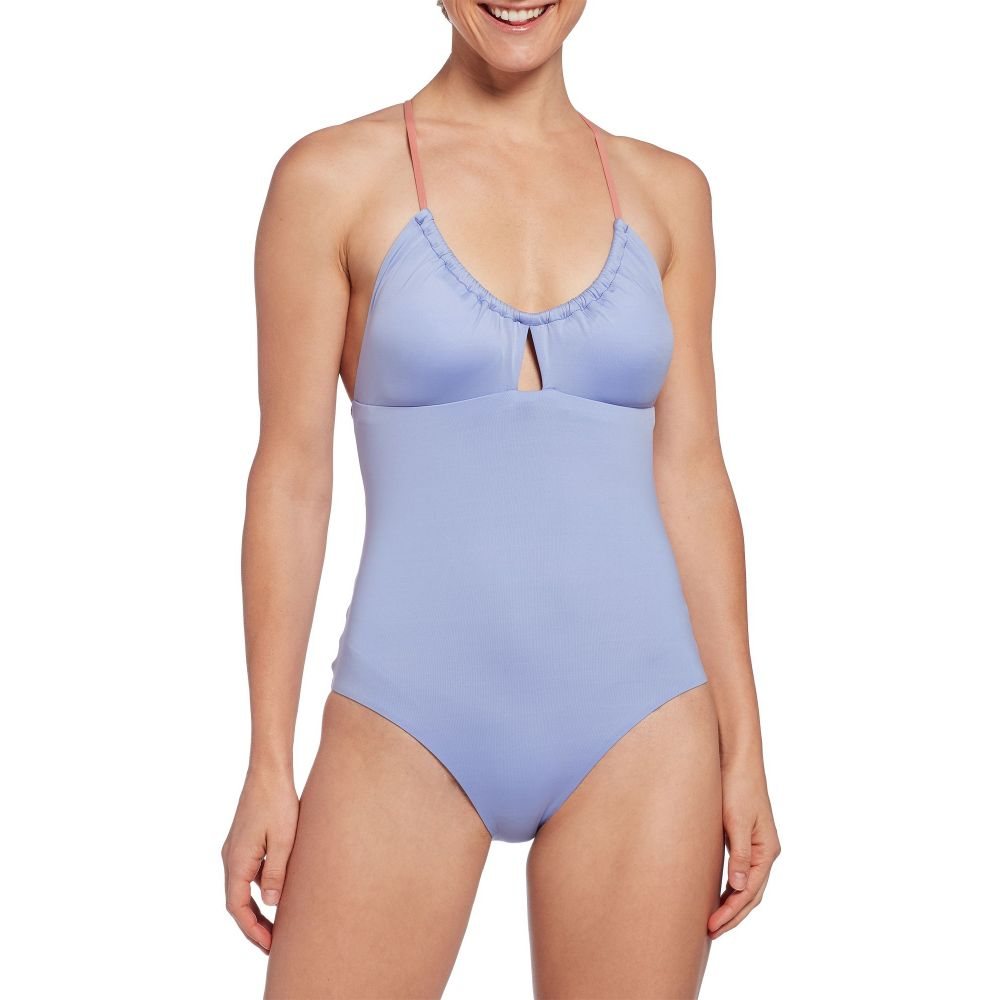 パタゴニア Patagonia レディース ワンピース 水着・ビーチウェア【Glassy Dawn Crossback One Piece Swimsuit】Light Violet Blue