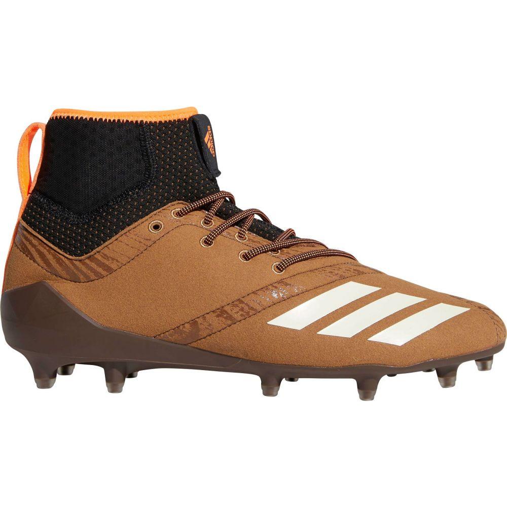 アディダス adidas メンズ ラクロス スパイク シューズ・靴【adiZERO 5-Star 7.0 Upstate Mid Lacrosse Cleats】Brown/White