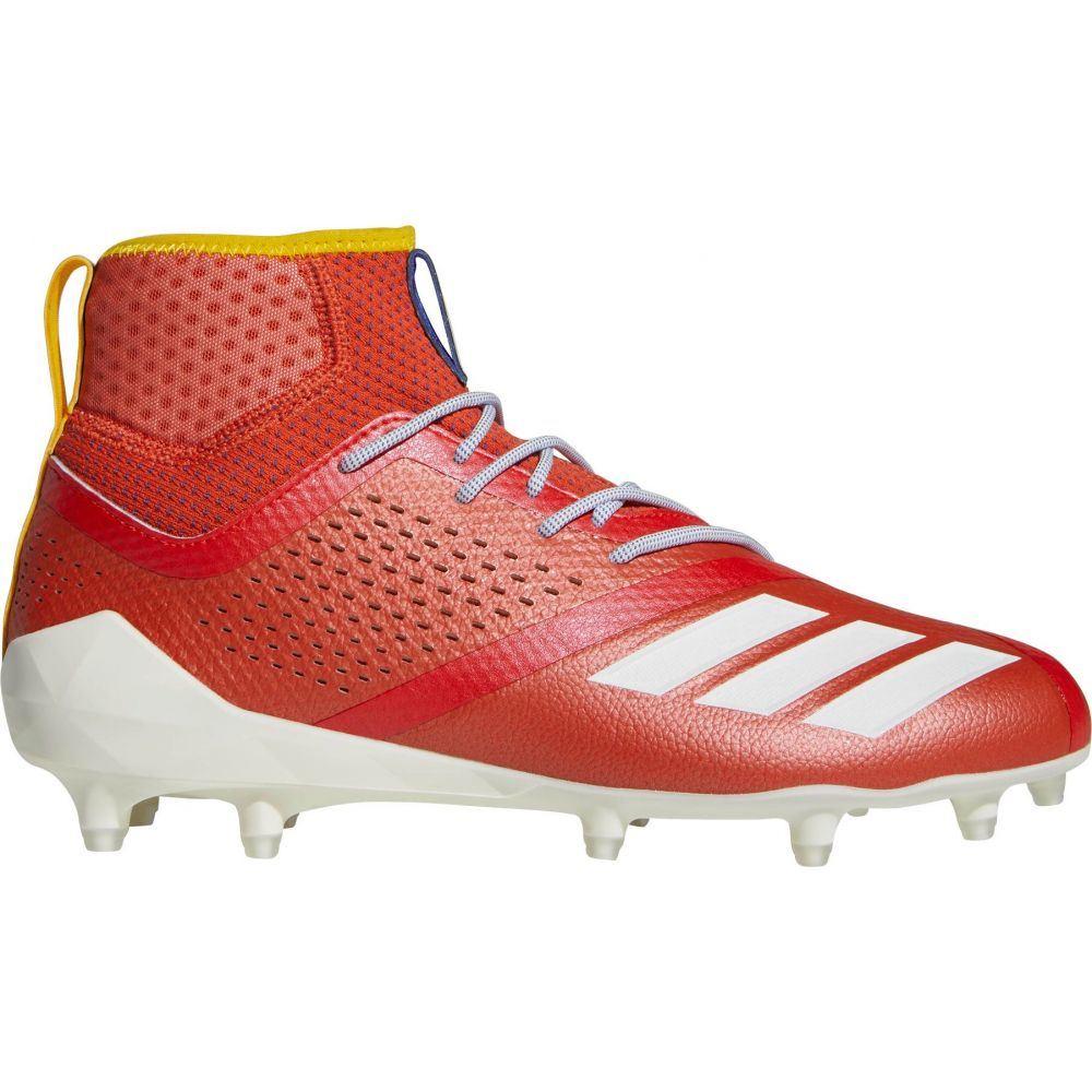 アディダス adidas メンズ ラクロス スパイク シューズ・靴【adiZERO 5-Star 7.0 Hotbed Baltimore Mid Lacrosse Cleats】Orange/Red