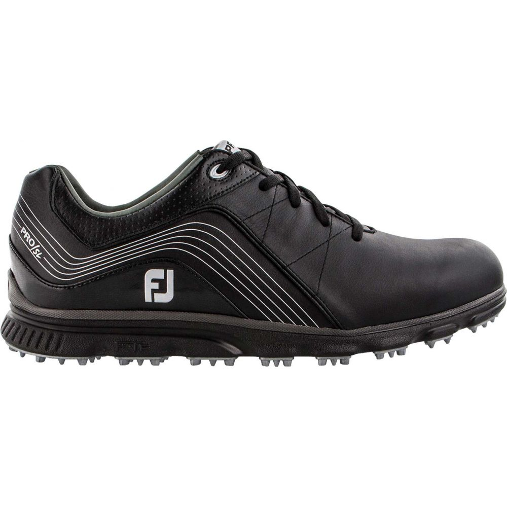 フットジョイ FootJoy メンズ ゴルフ シューズ・靴【2019 Pro/SL Golf Shoes (Previous Season Style)】Black/Charcoal