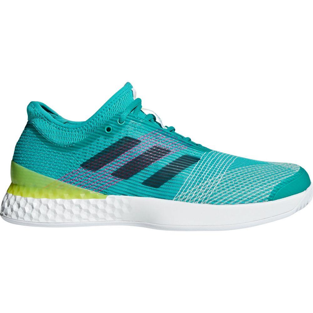 アディダス メンズ テニス シューズ・靴 【サイズ交換無料】 アディダス adidas メンズ テニス シューズ・靴【ubersonic 3 Tennis Shoes】Green