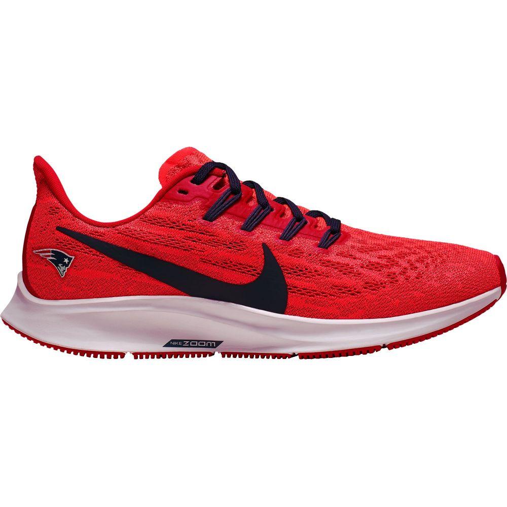ナイキ Nike レディース ランニング・ウォーキング エアズーム シューズ・靴【New England Patriots Air Zoom Pegasus 36 Running Shoes】Crimson/Blue/White