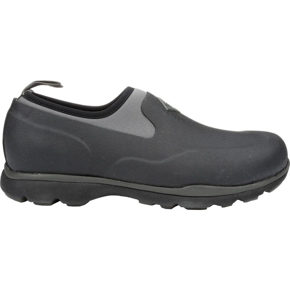 マックブーツ Muck Boots メンズ シューズ・靴 【Excursion Pro Low Waterproof Rubber Hunting Shoes】Black/Gunmetal