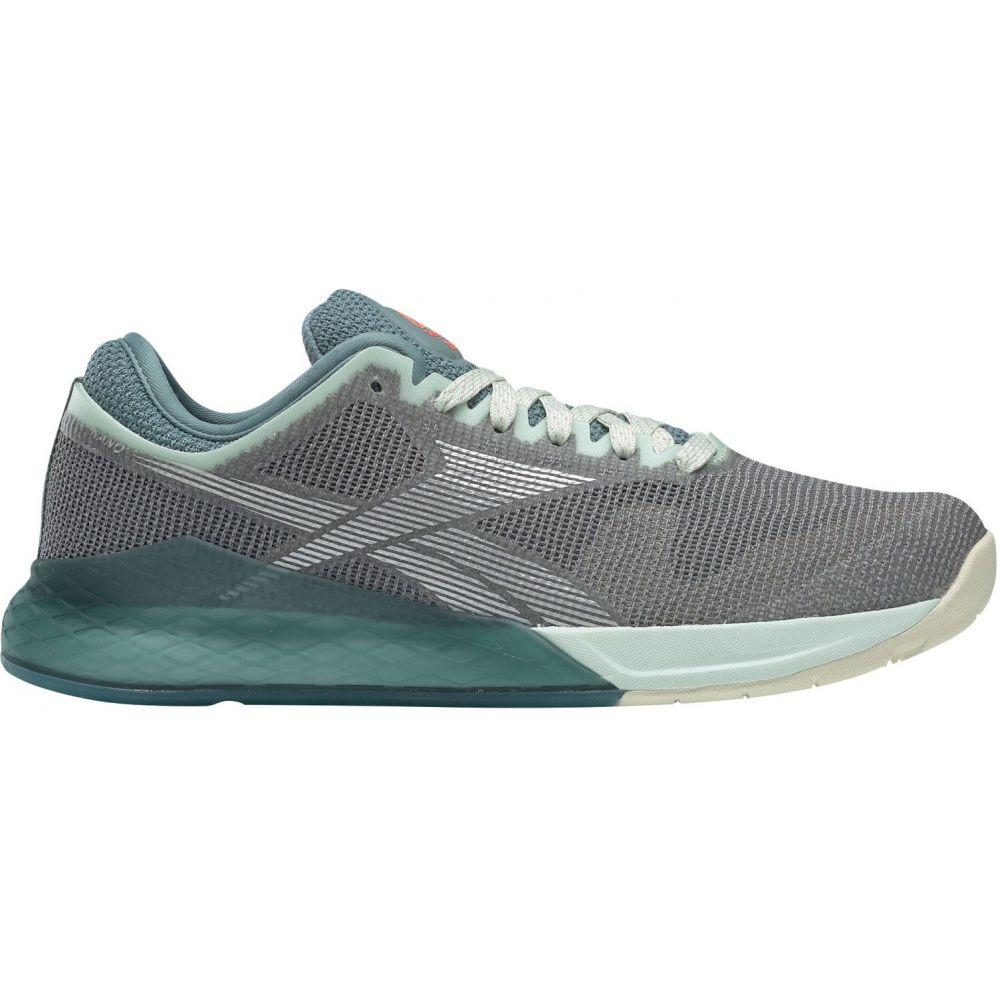 リーボック Reebok レディース フィットネス・トレーニング シューズ・靴【Nano 9 Training Shoes】グレー/緑