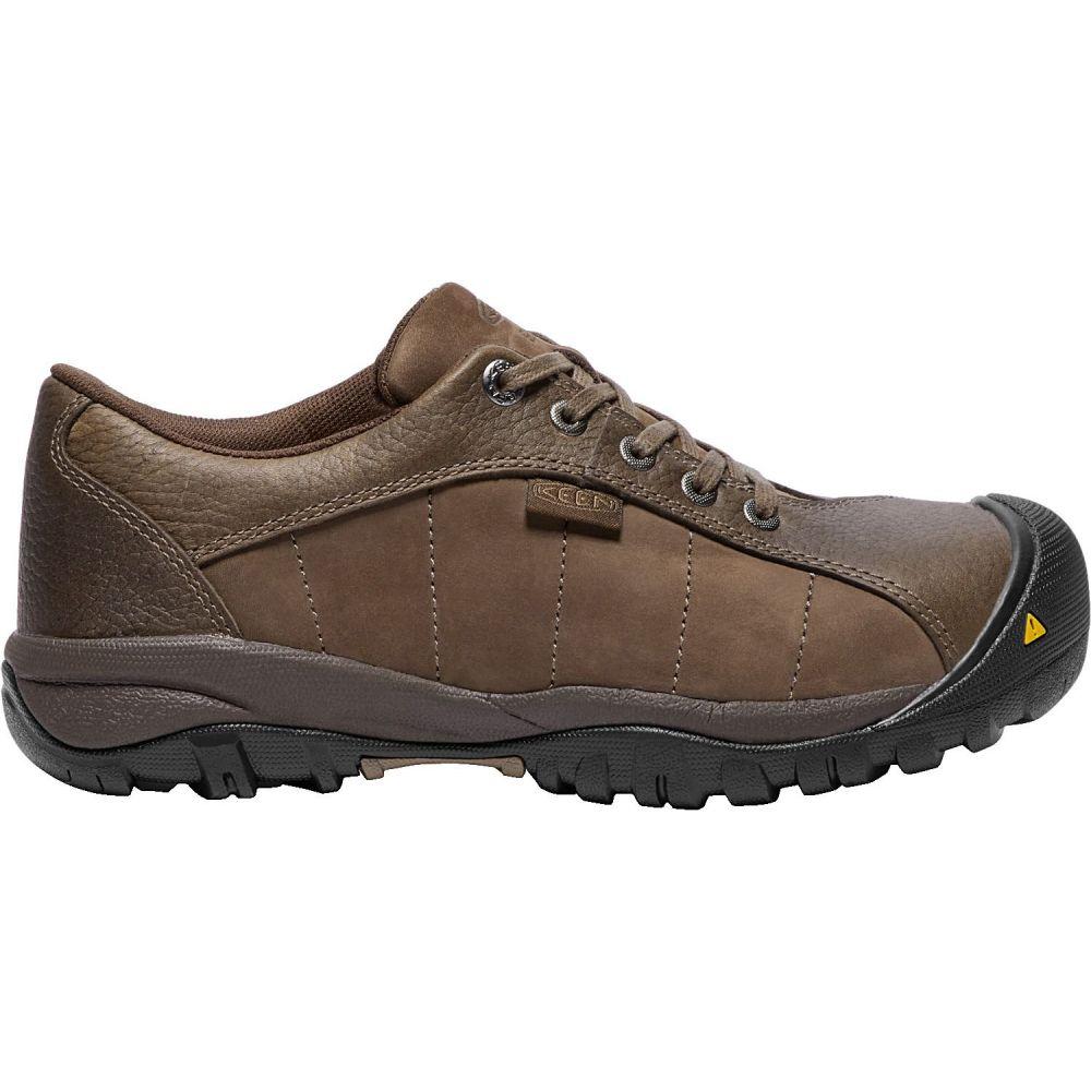 キーン Keen レディース シューズ・靴 【KEEN Santa Fe ESD Aluminum Toe Work Shoes】Cascade Brown