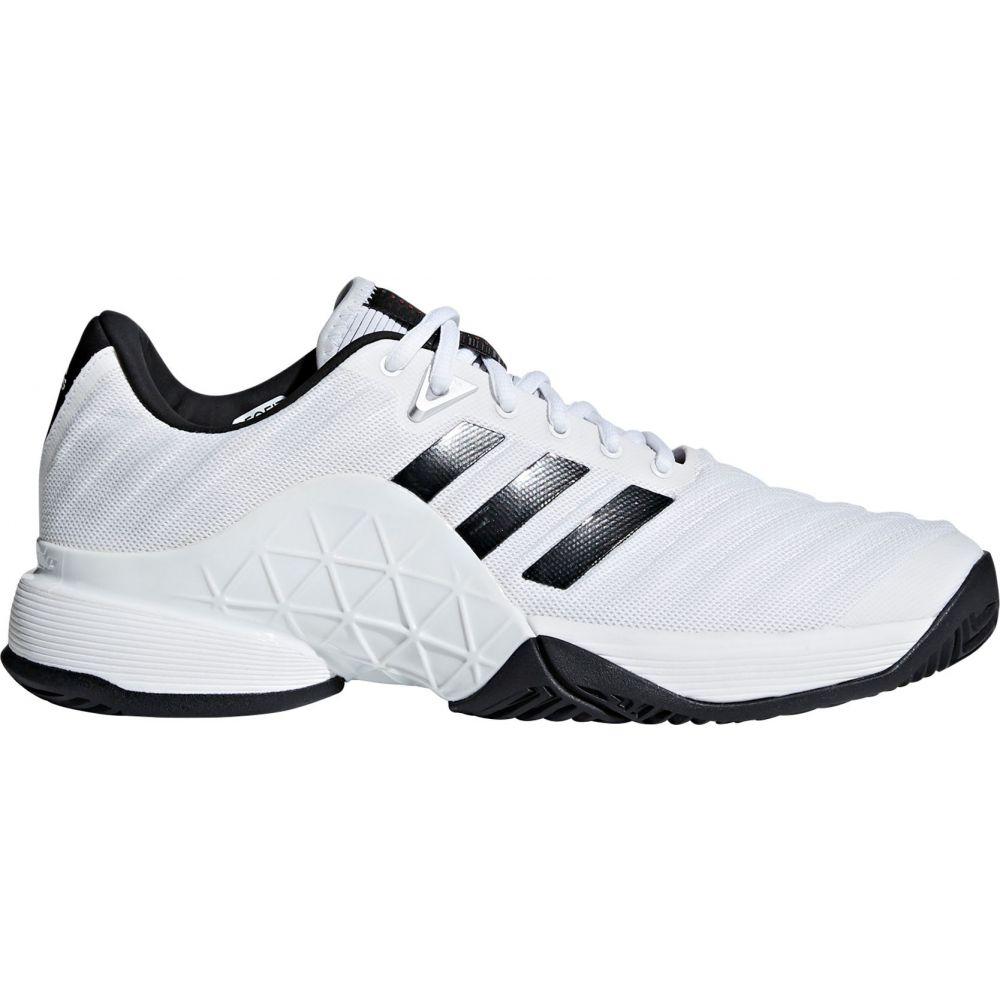 アディダス メンズ テニス シューズ・靴 【サイズ交換無料】 アディダス adidas メンズ テニス シューズ・靴【Barricade 2018 Tennis Shoes】White/Black