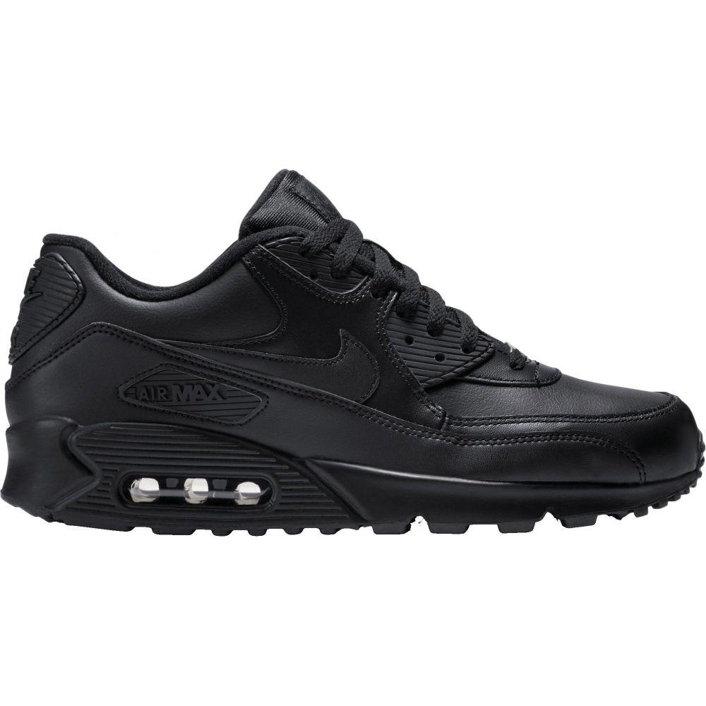 ナイキ Nike メンズ スニーカー シューズ・靴【Air Max '90 Leather Shoes】Black/Black