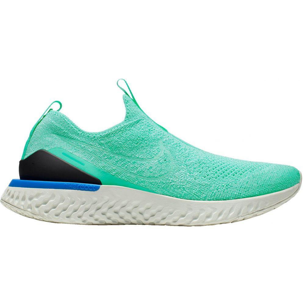 ナイキ Nike レディース ランニング・ウォーキング シューズ・靴【Epic Phantom React Flyknit Running Shoes】Teal/Black/White