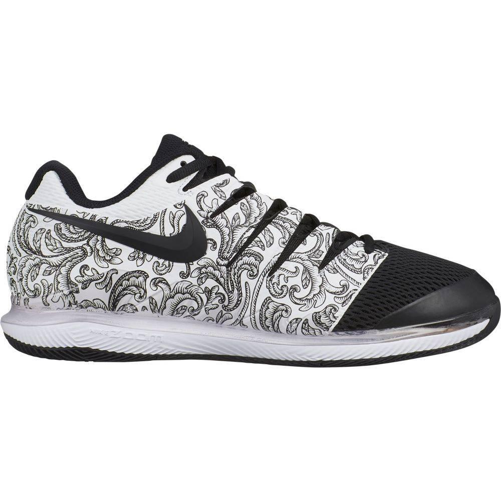 ナイキ メンズ テニス シューズ・靴 【サイズ交換無料】 ナイキ Nike メンズ テニス エアズーム シューズ・靴【Air Zoom Vapor X Tennis Shoes】White/Black