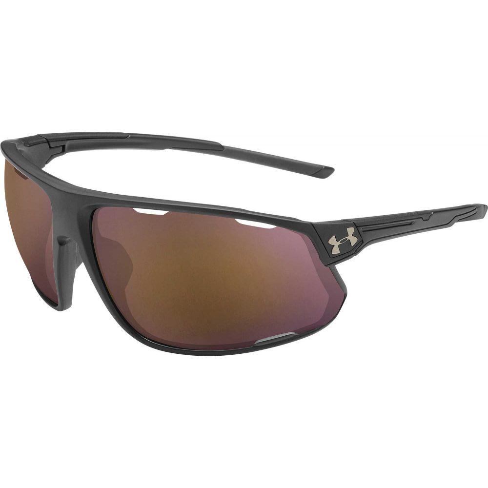 アンダーアーマー Under Armour メンズ スポーツサングラス 【Strive Running Tuned Road Sunglasses】Satin Black/Road Lens