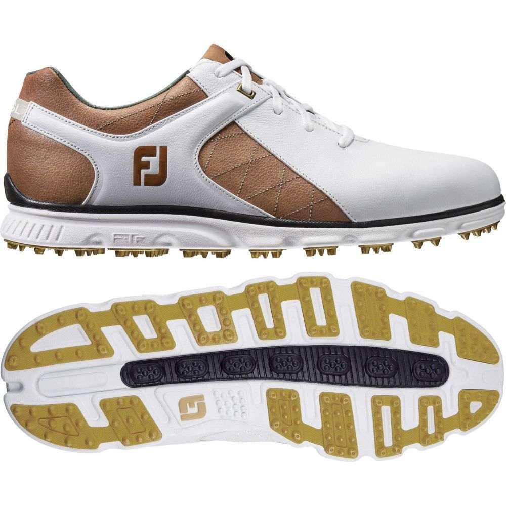 フットジョイ FootJoy メンズ ゴルフ シューズ・靴【Pro/SL Golf Shoes (Previous Season Style)】White/Taupe