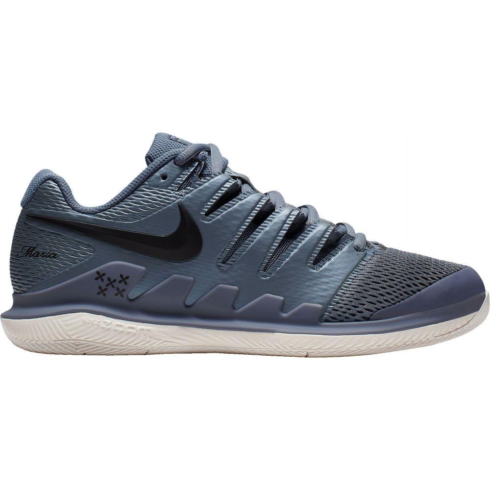ナイキ Nike レディース テニス エアズーム シューズ・靴【Air Zoom Vapor X Tennis Shoes】Metallic Blue