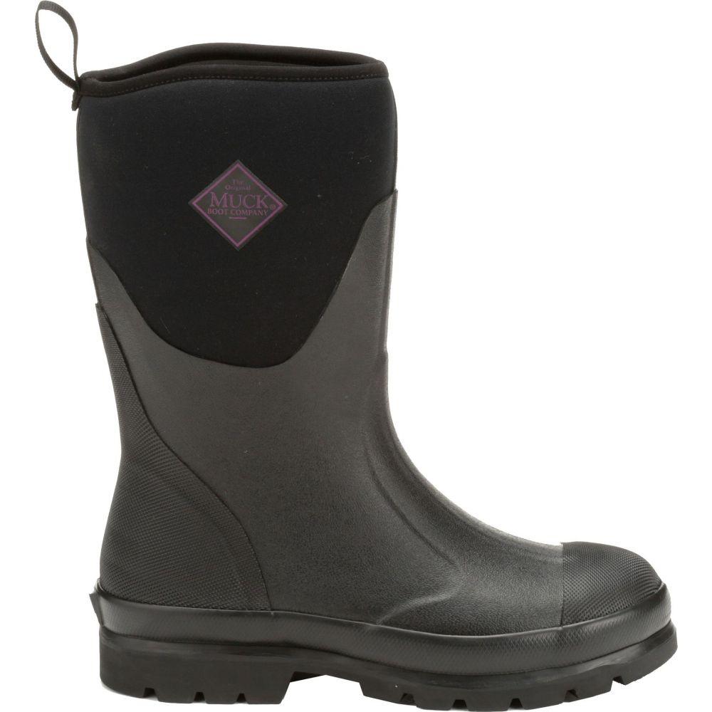マックブーツ Muck Boots レディース ブーツ ワークブーツ シューズ・靴【Chore Mid Waterproof Work Boots】Black