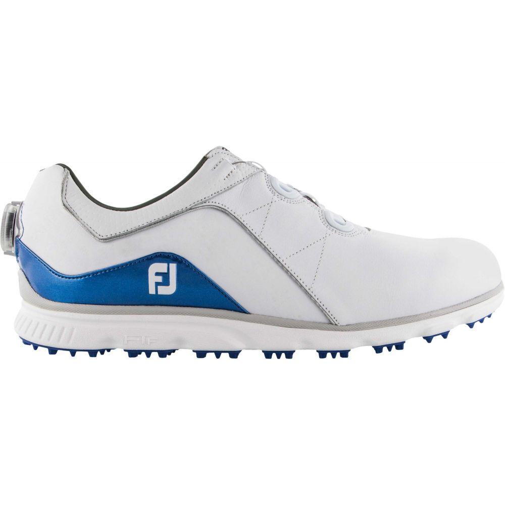 フットジョイ FootJoy メンズ ゴルフ シューズ・靴【2019 Pro/SL BOA Golf Shoes】White/Blue