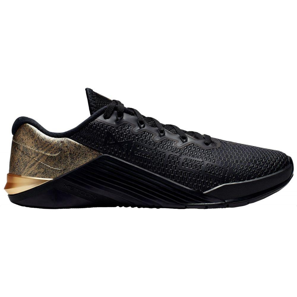 ナイキ Nike メンズ フィットネス・トレーニング シューズ・靴【Metcon 5 Black x Gold Training Shoes】Black/Gold