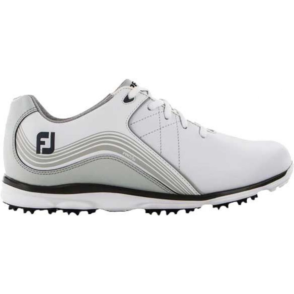 フットジョイ レディース ゴルフ シューズ・靴 【サイズ交換無料】 フットジョイ FootJoy レディース ゴルフ シューズ・靴【Pro/SL Golf Shoes】White/Silver