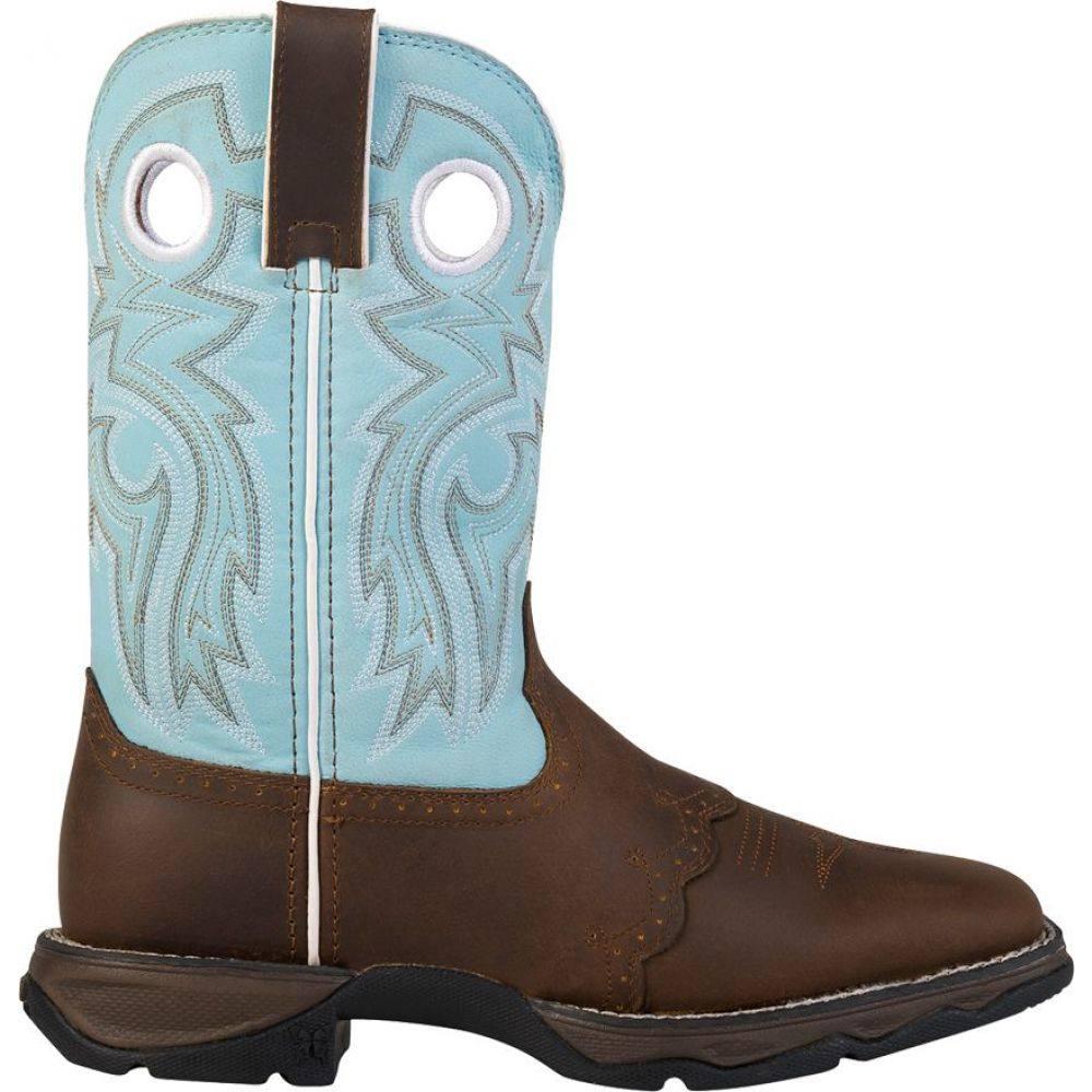 デュランゴ Durango レディース ブーツ ウェスタンブーツ ワークブーツ シューズ・靴【Rebel Powder n' Lace Western Work Boots】Powder