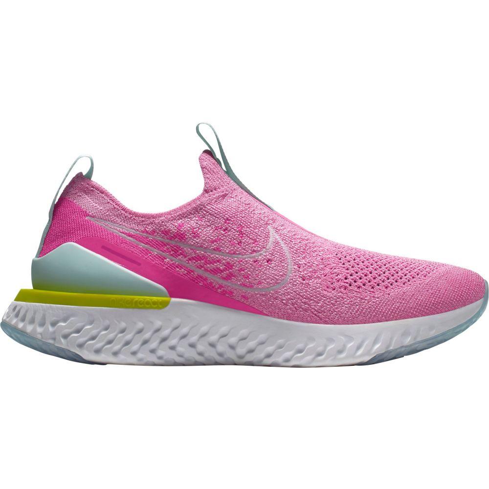 ナイキ Nike レディース ランニング・ウォーキング シューズ・靴【Epic Phantom React Flyknit Running Shoes】Pink/White