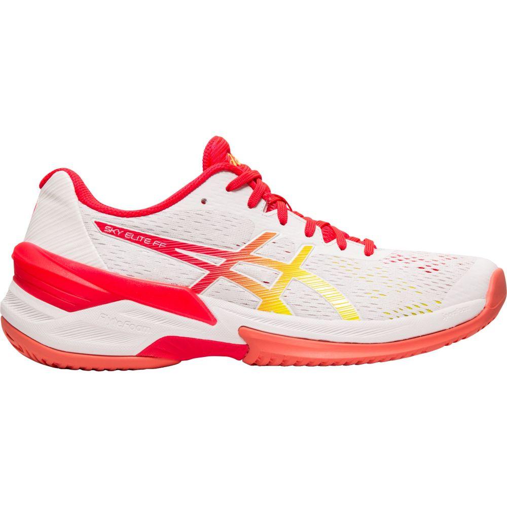 アシックス ASICS レディース バレーボール シューズ・靴【Sky Elite FF Volleyball Shoes】White/Pink