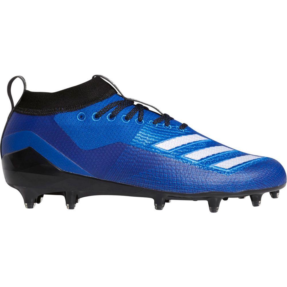 アディダス adidas メンズ アメリカンフットボール スパイク シューズ・靴【adizero 8.0 Burner Football Cleats】Royal/Black
