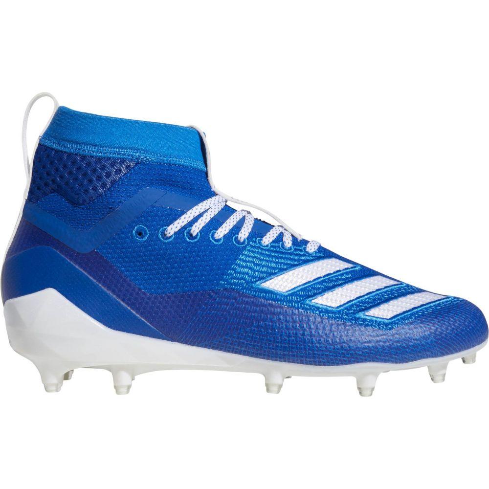 アディダス adidas メンズ アメリカンフットボール スパイク シューズ・靴【adizero 8.0 Burner SK Football Cleats】Royal/White