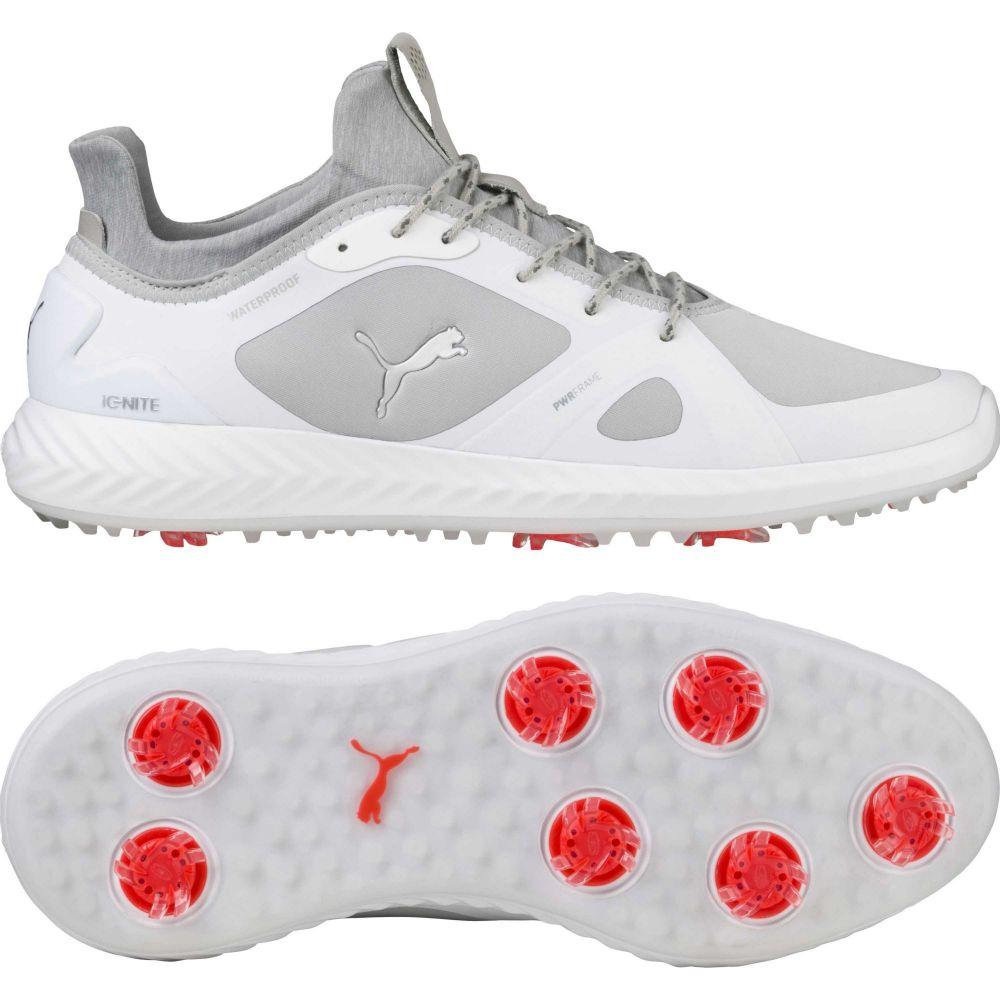 プーマ PUMA メンズ ゴルフ シューズ・靴【IGNITE PWRADAPT Golf Shoes】White/Grey