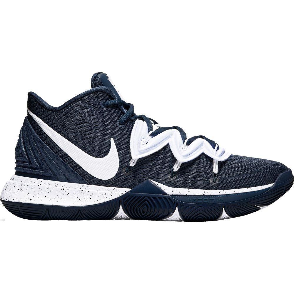 ナイキ Nike メンズ バスケットボール シューズ・靴【Kyrie 5 Basketball Shoes】Navy/White