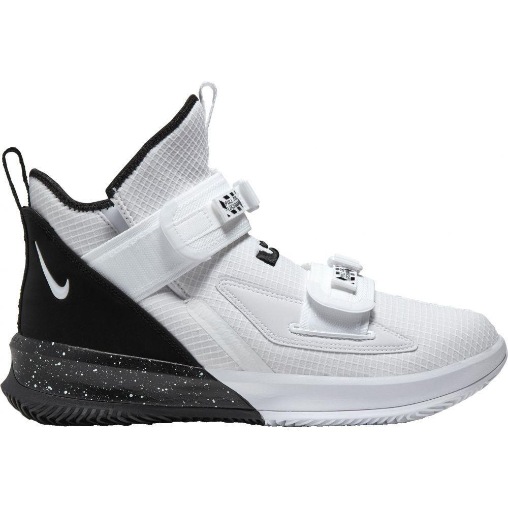 ナイキ Nike メンズ バスケットボール シューズ・靴【LeBron Soldier 13 SFG Basketball Shoes】White/Black