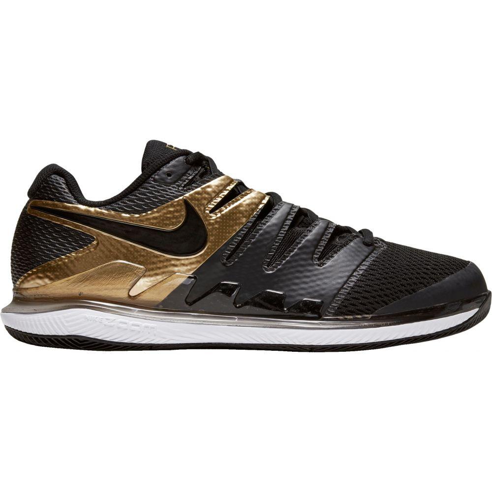 ナイキ Nike メンズ テニス エアズーム シューズ・靴【Air Zoom Vapor X Tennis Shoes】Black/Gold