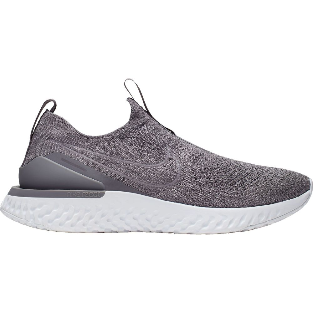 ナイキ Nike レディース ランニング・ウォーキング シューズ・靴【Epic Phantom React Flyknit Running Shoes】Grey/White