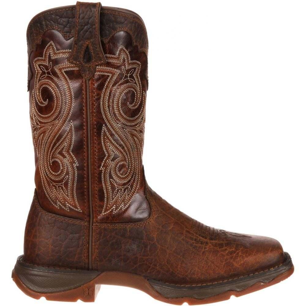 デュランゴ Durango レディース ブーツ ワークブーツ シューズ・靴【Rebel Steel Toe Work Boots】Dark Brown/Sunset Brown