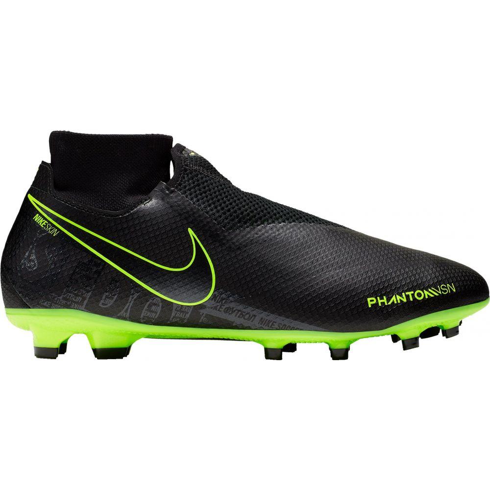 ナイキ Nike メンズ サッカー スパイク シューズ・靴【Phantom Vision Pro Dynamic Fit FG Soccer Cleats】Black/Green