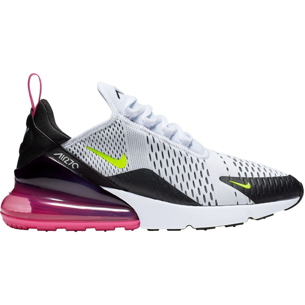 ナイキ Nike メンズ スニーカー エアマックス 27 シューズ・靴【Air Max 270 Shoes】White/Laser Fuchsia