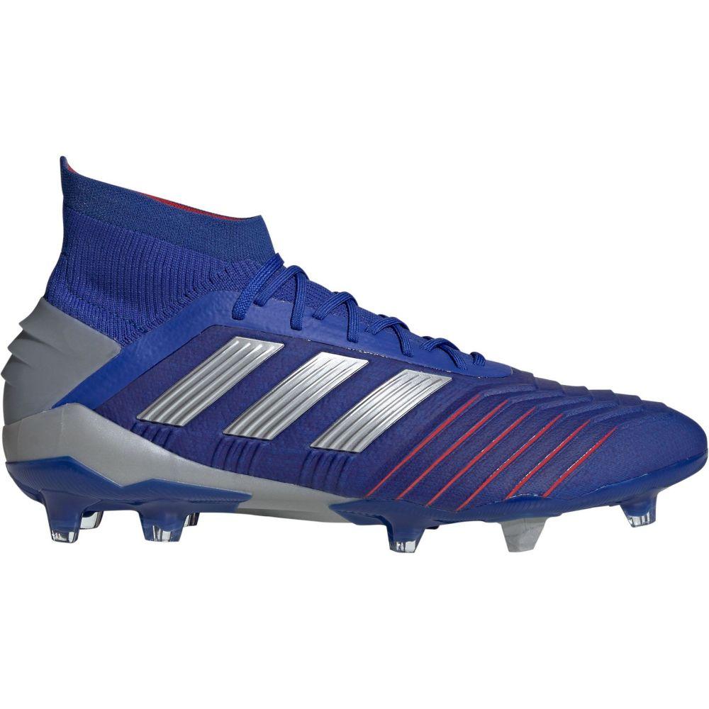 アディダス adidas メンズ サッカー スパイク シューズ・靴【Predator 19.1 FG Soccer Cleats】Blue/Silver