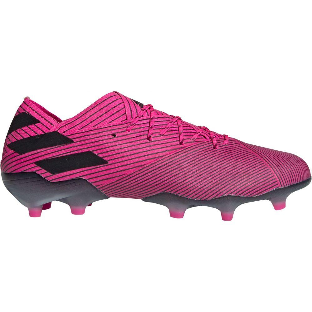 アディダス adidas メンズ サッカー スパイク シューズ・靴【Nemeziz 19.1 FG Soccer Cleats】Pink/Black