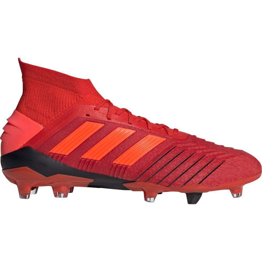アディダス adidas メンズ サッカー スパイク シューズ・靴【Predator 19.1 FG Soccer Cleats】Red/Black