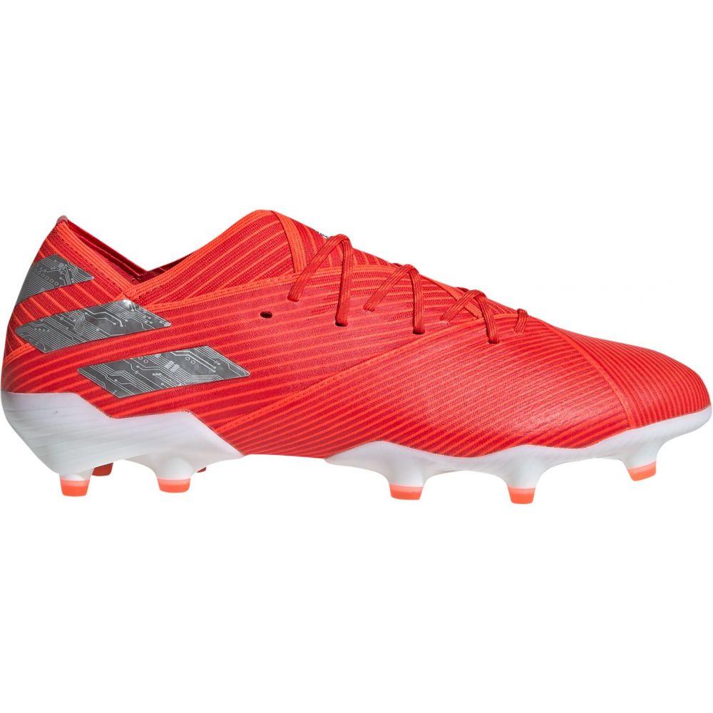 アディダス adidas メンズ サッカー スパイク シューズ・靴【Nemeziz 19.1 FG Soccer Cleats】Red/Silver
